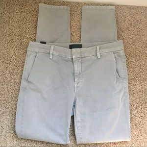 [Vince] Creased Chino Pants in Steel